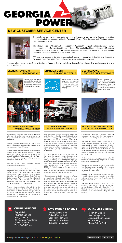 Georgia-Power-Newsletter